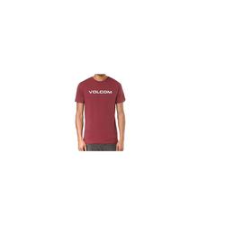 Volcom T-Shirt Volcom T-Shirt Crisp Euro rot S