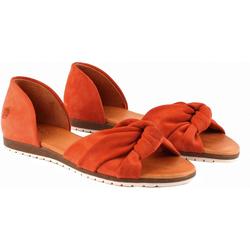 Apple of Eden Chelsea Peeptoe-Ballerinas Ballerina orange 40