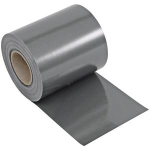 NOOR Sichtschutzstreifen PVC Zaunblende, steingrau, BxL: 19 cm x 35 m grau