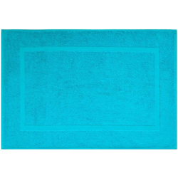 Badematte Kristall Dyckhoff, Höhe 2 mm, 2er Set Hotelmatte blau 2-tlg. Badematte