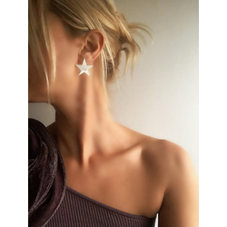 Plume Atelier d'argent Ohrring-Set Ohrring mit Stern