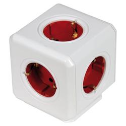 Steckdosenwürfel Powercube 5-fach