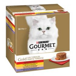 Gourmet Gold 8-Pack herzhaftes Türmchen 48 x 85 gram