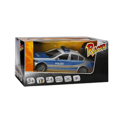 THE TOY COMPANY® Spielzeug-Auto RC Racer Polizeiwagen mit Licht, 2.4GHZ