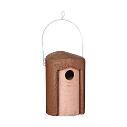 Dehner Nistkasten Natura für Wildvogel, Höhe 25.5 cm, Holzbeton