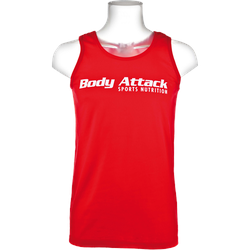 Muscle-Shirt red - S