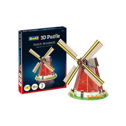 Revell® Steckpuzzle Revell 3D Puzzle: Windmühle, Puzzleteile