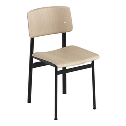 Loft Stuhl Eiche/Schwarz  Muuto