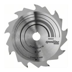 Bosch Kreissägeblatt Speedline Wood 130 x 16 x 2,0 mm 9