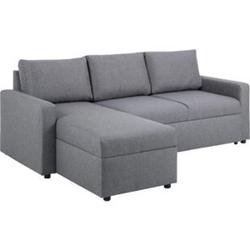 Sander Schlafsofa Ottomane grau Schlafcouch Couch Sofa Gästebett Wohnzimmer