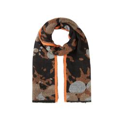 XL-Schal mit stylischem Camou-Muster Codello camel