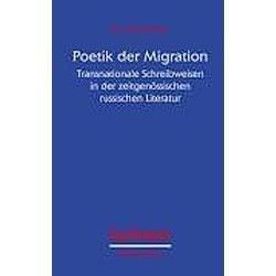 Poetik der Migration. Eva Hausbacher  - Buch