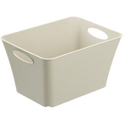 Rotho LIVING Box, 11 Liter, Aufbewahrungsbox, Maße: 355 x 260 x 192 mm, Farbe: cappuccino