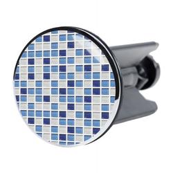 Stöpsel Mosaik Blau