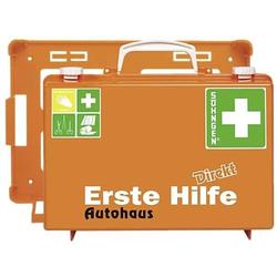 Erste-Hilfe-Koffer Direkt Autohaus orange