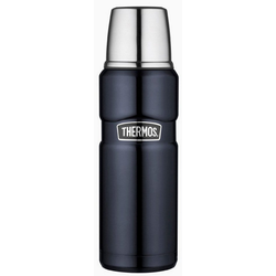 THERMOS Thermoflasche Thermos Isolierflasche 'King' blau 470 ml
