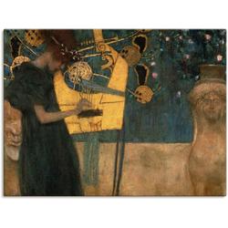 Artland Wandbild Die Musik. 1895, Musiker (1 Stück) 80 cm x 60 cm