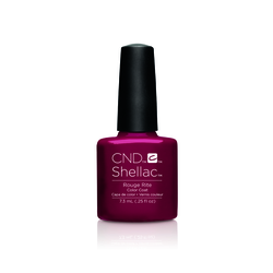 CND Nagellack Shellac Color Coat Rouge Rite Rouge Rite