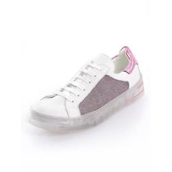 Alba Moda Sneaker mit außergewöhnlicher Sohle weiß 40