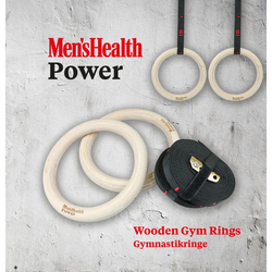 Mens Health Gymnastikringe Holz