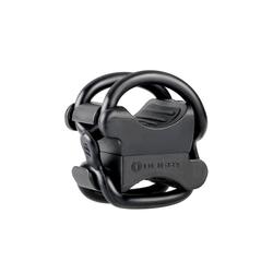 OLIGHT Fahrradhalter FB-1 Universal-Fahrradhalterung für das Radfahren, elastische Halterung für Taschenlampe mit max. Durchmesser von 10 mm bis 35 mm schwarz