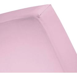 Spannbettlaken Basic, Cinderella, für Boxspringbetten rosa 90 cm x 210 cm