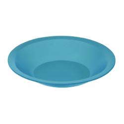 Rotho CARUBA Teller, tief, Teller aus Kunststoff, Farbe: aqua blau
