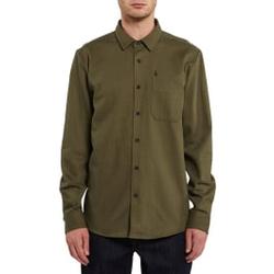 Volcom - Ridgewell L/S Military - Hemden - Größe: M