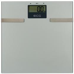 ECG Körper-Analyse-Waage OV 126, Messung von Körperfett, Wasser und Muskelmasse, Speicher für bis zu 12 Personen, Ultradünn (17 mm), Max. Tragkraft 150 kg