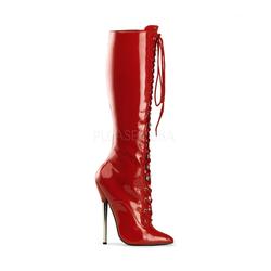 Fetisch Stiefel DAGGER-2020 - Rot