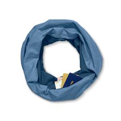 Loop-Schal mit Geheimfach