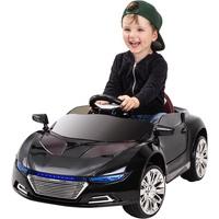 Actionbikes Motors Kinder Elektro Auto Spyder A228 Kinderauto Elektrofahrzeug Kinderfahrzeug Spiel (Schwarz)