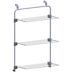 Metaltex Wandwäschetrockner, zum Einhängen an Duschkabine oder Tür