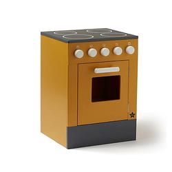 Küchenherd gelber Spielzeugherd Kinderküchengeräte