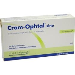 CROM-OPHTAL sine Augentropfen EDB 10 ml