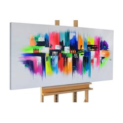 KUNSTLOFT Gemälde Mezclado, handgemaltes Bild auf Leinwand