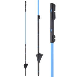 Fiberglaspfahl, Ersatzpfahl für Wildabwehr-Netz, 90cm, blau