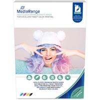 MediaRange MRINK103 Fotopapier A4 Weiß Hoch-Glanz