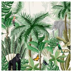 Paper+Design Papierserviette Regenwald, (20 St), 33 cm x 33 cm