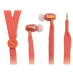 LogiLink Stereo In-Ear Headset, orange
