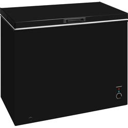 Gefriertruhe, 98 cm breit, 197 Liter, Gefriertruhe, 45652045-0 schwarz schwarz