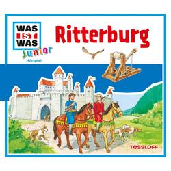 Was ist was Junior Hörspiel: Ritterburg als Hörbuch Download von Charlotte Habersack
