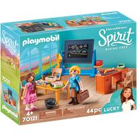 Playmobil Spirit Riding Free Schulzimmer von Miss Flores (70121)