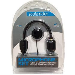 Cardo G9X Microfoonset, zwart, Eén maat