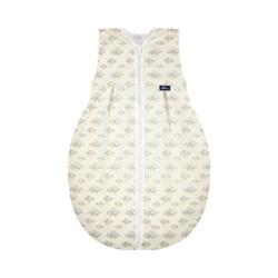 Alvi® Babyschlafsack Kugelschlafsack Molton Star Rain, 90 cm 70