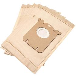 vhbw 5 Staubsaugerbeutel passend für Zanussi ZANEQ10 Staubsauger, Papier 25.75cm x 16.2cm