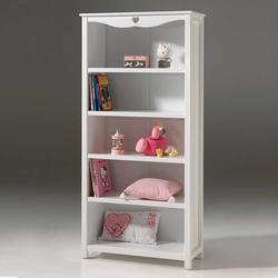 Kinderzimmer Regal in Weiß 90 cm breit