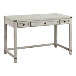 Baton Rouge Home Office Writing Desk Champagne Oak - OSP Home Furnishings