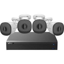IMOU POE-Kit IM-PoE-Security-Kit-LAN IP-Überwachungskamera-Set 4-Kanal mit 4 Kameras 1920 x 1080 Pi