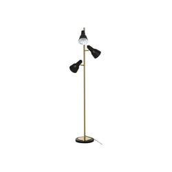 HOMCOM Stehlampe Stehlampe mit 3 Lampenschirmen